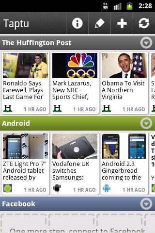 Taptu auf Android