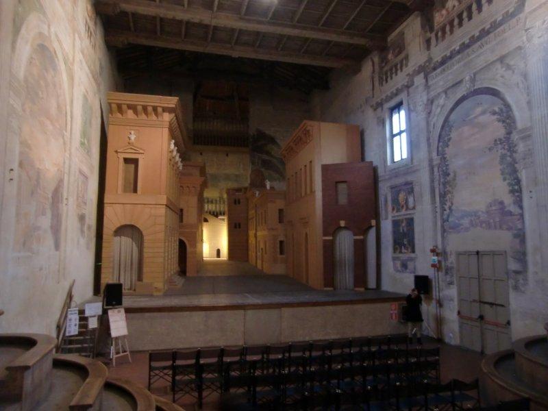Historisches Bühnenbild