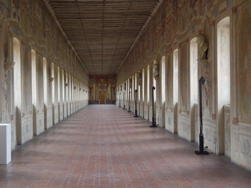 Die Kunstgalerie in Sabbioneta: in Architektur gebrachte Großzügigkeit.