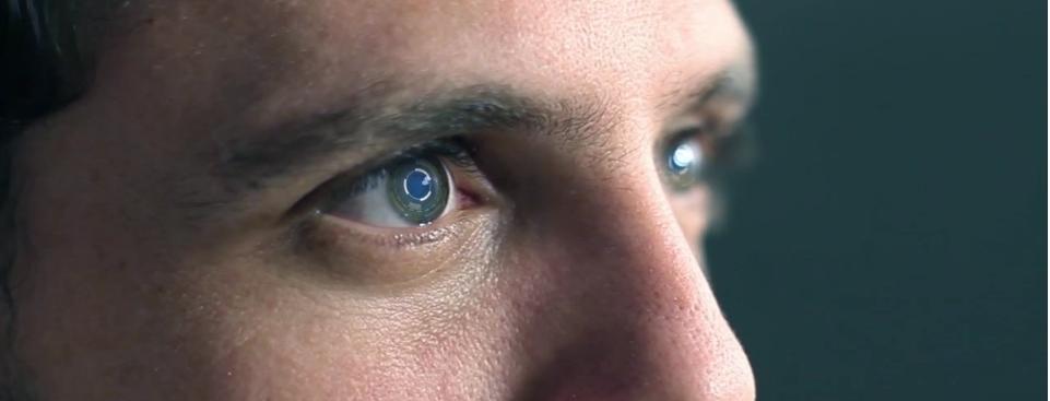 Interaktibe Kontaktlinsen