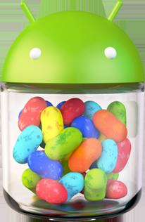 Das offizielle Jelly Bean Logo
