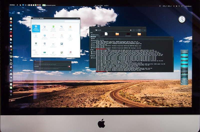 Linux in iMac