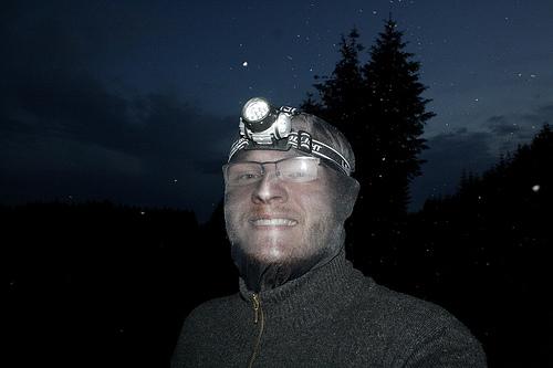 Schutz vor den midges in den Highlands